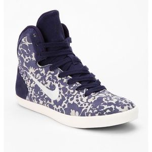 Nike Hyperclave Floral High-Top Sneakers